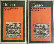 TORQUATO TASSO GERUSALEMME LIBERATA. A CURA DI MARZIANO GUGLIELMINETTI GARZANTI