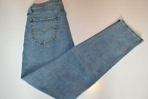 Mens Levis Flex 531 Athletic Slim Fit 34x34 Medium Wash Stretch Blue Jeans