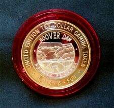 """Hard To Find / Slots-A-Fun """"Hoover Dam - Bypass Project"""" / RED CAP / Las Vegas"""