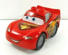 Lego Duplo Item Car #95 Lightning McQueen 2x4 Base Red