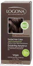 LOGONA Organic Natural Brown Herbal Hair Colour 100g