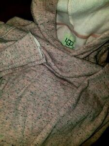 UGG Pink Fleece Hoodie Super Soft Loose Fit