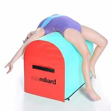 Milliard Gymnastics Mailbox Tumbling Aid Trainer Spotting Blue Red Equipment