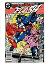 Flash DC Comics #2 FN/VF 7.0 Fastest Man Alive 1987 Vandal Savage Justice League