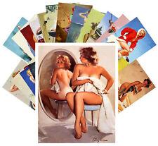 24 Postkarten Set * Elvgren Pinup Sexy Girls by Elvgren Retro Magazine CD3015