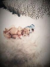 ooak miniature polymer clay newborn baby sculpt very realistic!