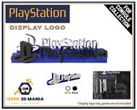 PLAYSTATION Display pour Vitrine de Collection de Jeux vidéo Rétro Gaming Geek