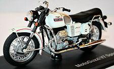 Moto Guzzi V7 Special 1971 weiss + schwarz white + black 1:18 Norev 182050
