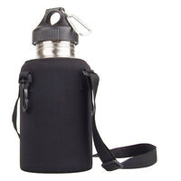 2L/2000ml Stainless Steel Tea Water Bottle Carrier Insulated Bag Holder Reliable