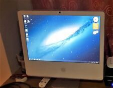 "Apple iMac da 5,2 17"" LATER 2006 1.83ghz c2d t5600, 2gb di RAM, 160gb, WINDOWS 7"