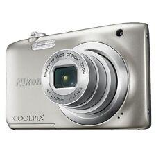 NIKON COOLPIX A100 DIGITAL CAMERA  (silver)*   ** BUNDLE KIT **