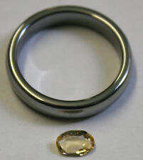 GOLDEN TOPAZ LOOSE NATURAL GEMSTONE 4X6MM FACETED OVAL 0.45CT GEM TZ55