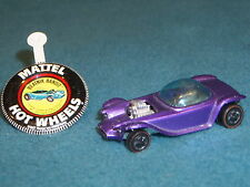 HOT WHEELS REDLINE MATTEL 1967 BEATNIK BANDIT ED ROTH REVELL HONG KONG & BUTTON