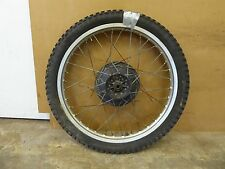 1978 Yamaha DT250 DT 250 Enduro Y682. front wheel rim 21in