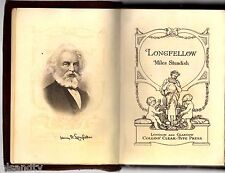 Vintage LONGFELLOW - MILES STANDISH (Leather Cover - Hyperion Book circa 1900's)