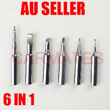 6 PCs Tips Solder Soldering Iron Rework Station Lead Free FOR Hakko Yihua Atten