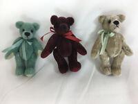 "World of Miniature Bears 1.75/"" Plush Bear Butch #652 Collectible Miniature Bear"