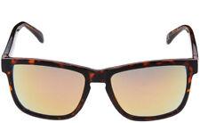 LEVI'S 2018 Tortoise Shell Mirrored Square Sunglasses Clubmaster Mens UV Lens