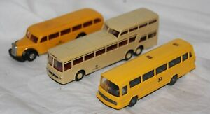 Wiking/Brekina 1:87 Kunststoffmodell Konvolut - 3 x Busse  - ohne OVP - ansehen