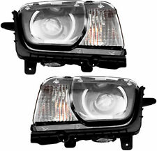 FITS FOR CAMARO 2011 2012 2013 HEADLIGHT W/HID RIGHT & LEFT PAIR SET