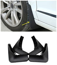 For Audi A6 C7 2012-2015 Exterior Molded Splash Guards Mud Flaps - Front & Rear