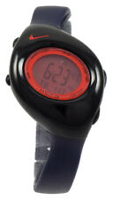 New Nike Triax 10 Regular WR0006 Black Red Dial Digital Sports Watch