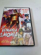 """DVD """"LA VENGANZA DE LA MOMIA"""" COMO NUEVO CARLOS AURED PAUL NASCHY JACK TAYLOR MA"""