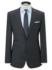 John Lewis Prince Of Wales Check Pure Wool Blazer / Jacket Charcoal UK Size 38R