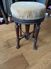 More details for antique piano swivel chair stool