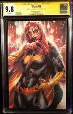 DCEASED #3 CGC SS 9.8 BATGIRL ZOMBIE VIRGIN VARIANT BATMAN SUPERMAN WONDER WOMAN