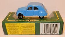 CORGI TOYS CAMEO MADE IN GREAT BRITAIN IN 1993 CITROEN 2CV BLUE IN BOX 1/50