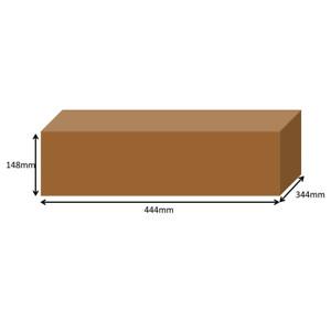 444 x 344 x 148mm Long Cardboard Boxes Single Wall 1,3,5,10,25,50,100