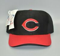 Cincinnati Reds Logo Athletic MLB Vintage 90's Twill Snapback Cap Hat - NWT
