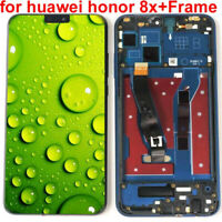 For Huawei Honor 8X LCD Display Touch Screen Digitizer Assembly + Frame DL