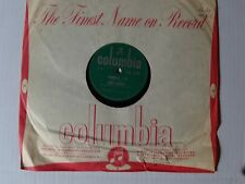 RUBY MURRAY: Honestly I do / you my first love 78 rpm SHELLAC COLUMBIA D.B. 3770