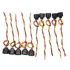 10Pcs Alternator Connector Harness Plug 3 Wire For Ford Mustang Focus Explorer