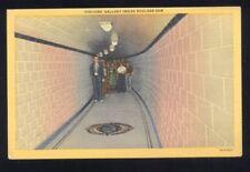 Visitors Gallery Inside Boulder Dam Nevada Postcard
