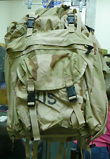 US MILITARY CFP-90 INTERNAL FRAME COMBAT FIELD PACK W/ PATROL PACK  3 COL DESERT
