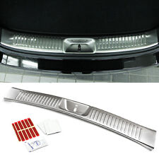 Stainless Genuine Parts Trunk Rear Bumper Protector For KIA 2013-2014 Sorento R