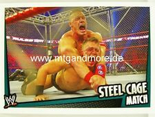 Slam Attax Rumble-Steel Cage match-match Type