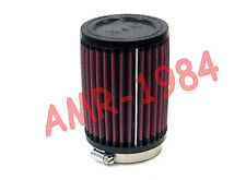 FILTRO ARIA K&N A9445 UNIVERSALE  MOTO IMBOCCO Ø 62 64 PER VHSB Ø 34 RB-0710