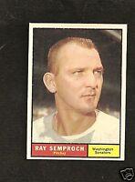 1961 Topps # 174 Ray Semproch NM