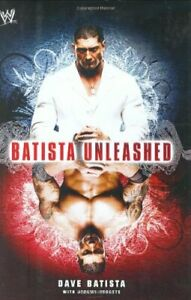 Batista Unleashed (WWE) by Batista, Dave Hardback Book The Cheap Fast Free Post