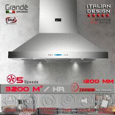 1200mm X 600mm Commercial Canopy Range Hood Alfresco Indoor Bbq Rangehood Grande