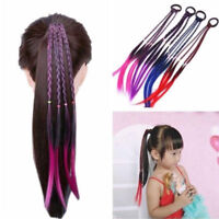 Headband Girls Twist Braid Rope Rubber Band Hair Accessories Kids Wig Fashion