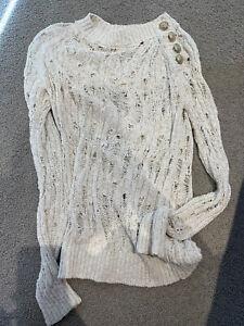 Balmain knit tops wear/ size 36/ authentic