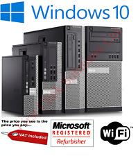 Dell Optiplex 7010 Desktop Business PC i7 i5 i3 SSD HDD 4GB 16GB Windows 10 Pro