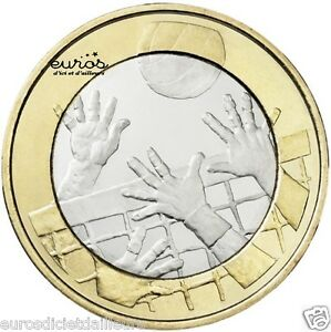 5 euros commémorative FINLANDE 2015 - Les Sports  - Le Volleyball - UNC - 4/9