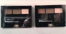 2- Maybelline New York Brow Drama Pro Eye Makeup Palette Deep Brown Kit #260