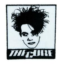 The Cure Robert Smith Patch Iron on Applique Boys Don't Cry Gothic Punk Darkwave